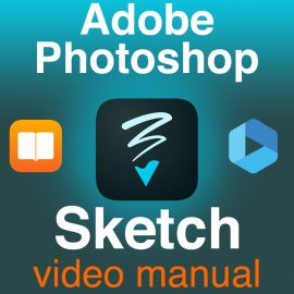 Adobe Photoshop Sketch Video Manual Pre-Order