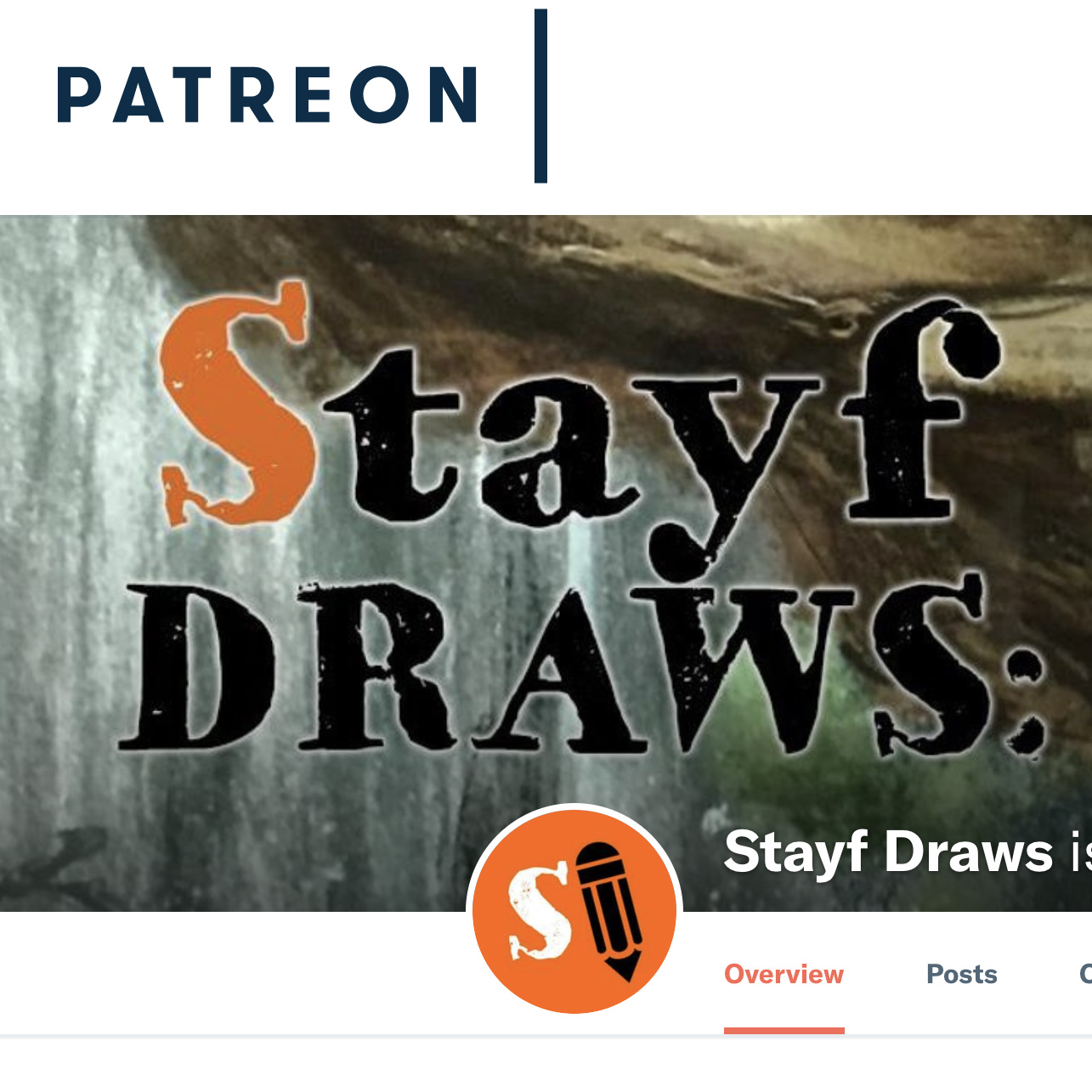 Stayf Draws on Patreon for Extended Tutorials