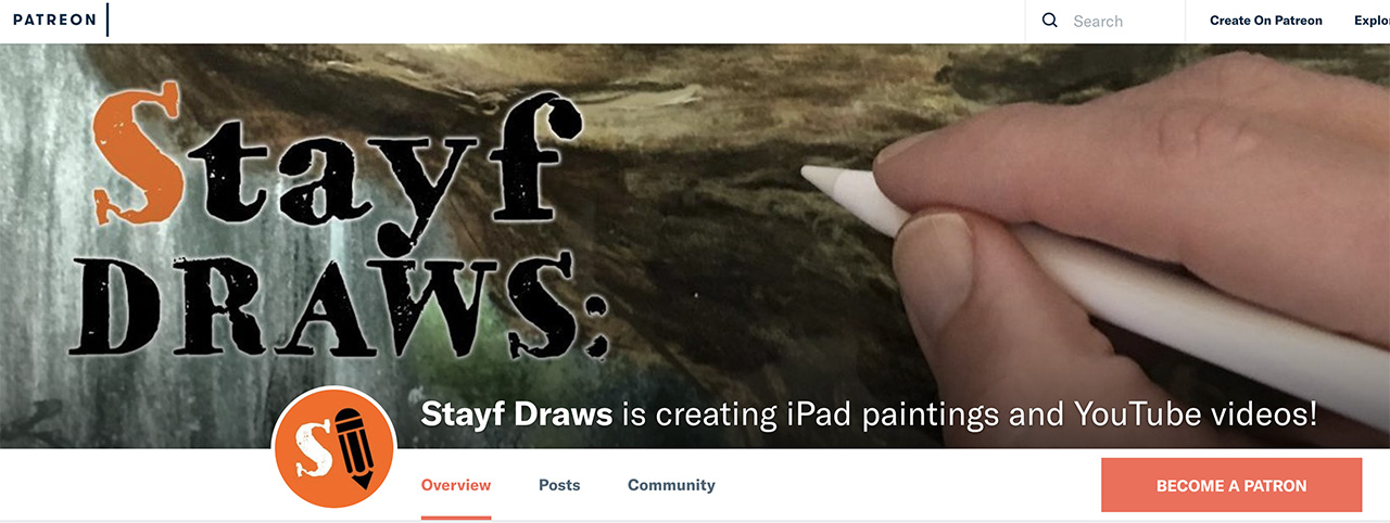 Stayf Draws Patreon