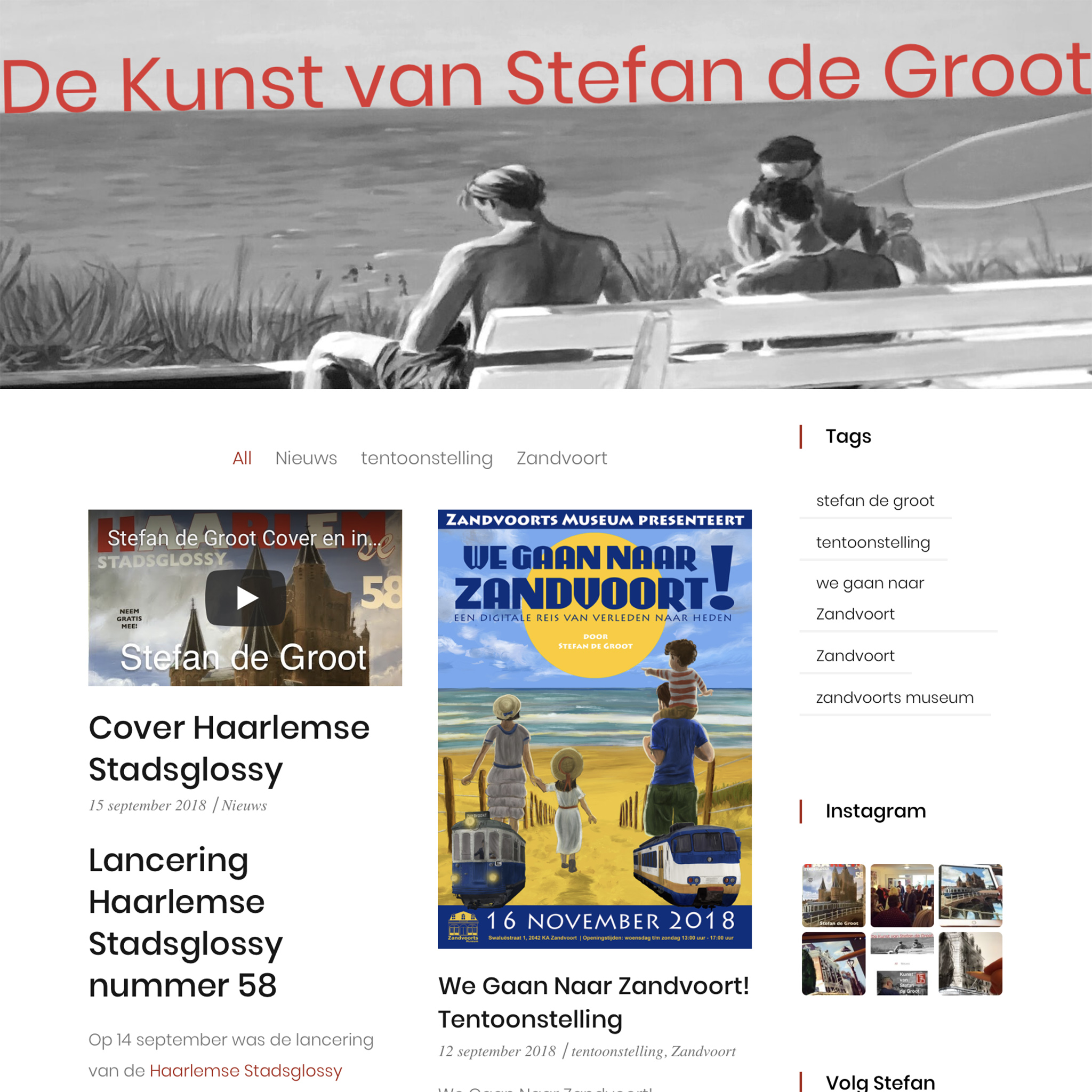 Stefan de Groot Website