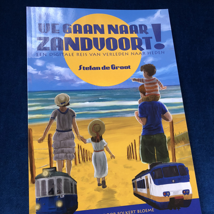 We gaan naar Zandvoort! boek