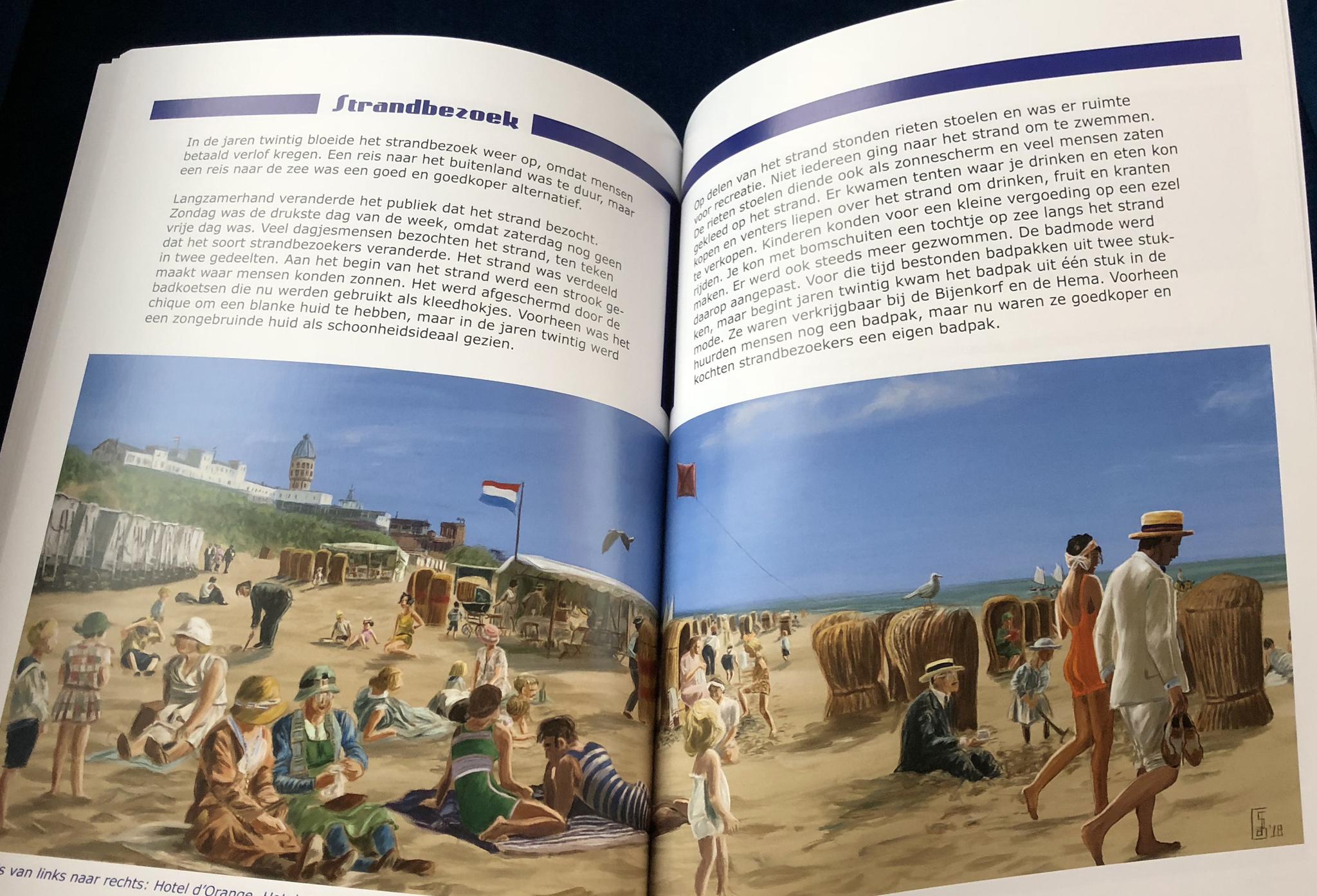 Panorama Zandvoort Stefan de Groot We gaan naar Zandvoort !boek