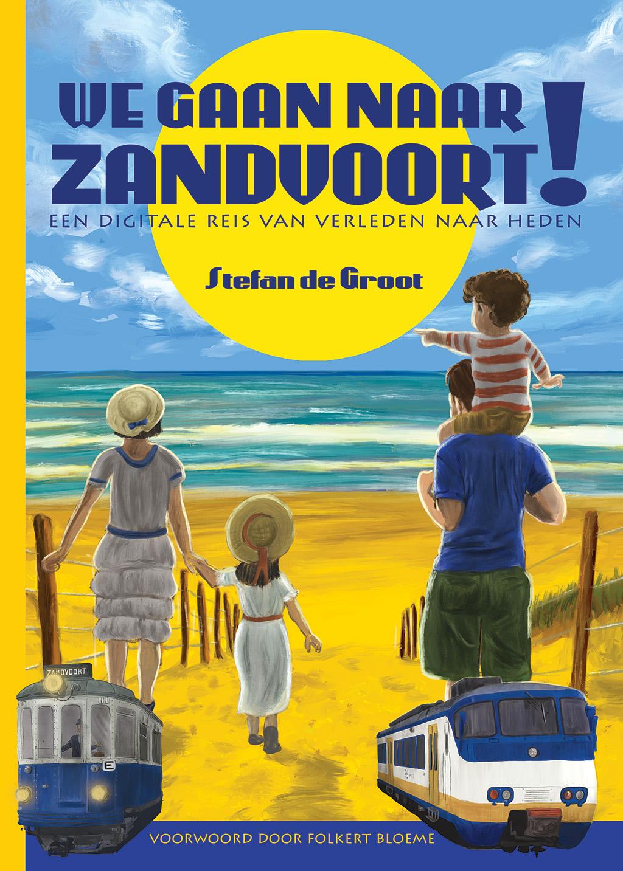 We gaan naar Zandvoort! Softcover Stefan de Groot