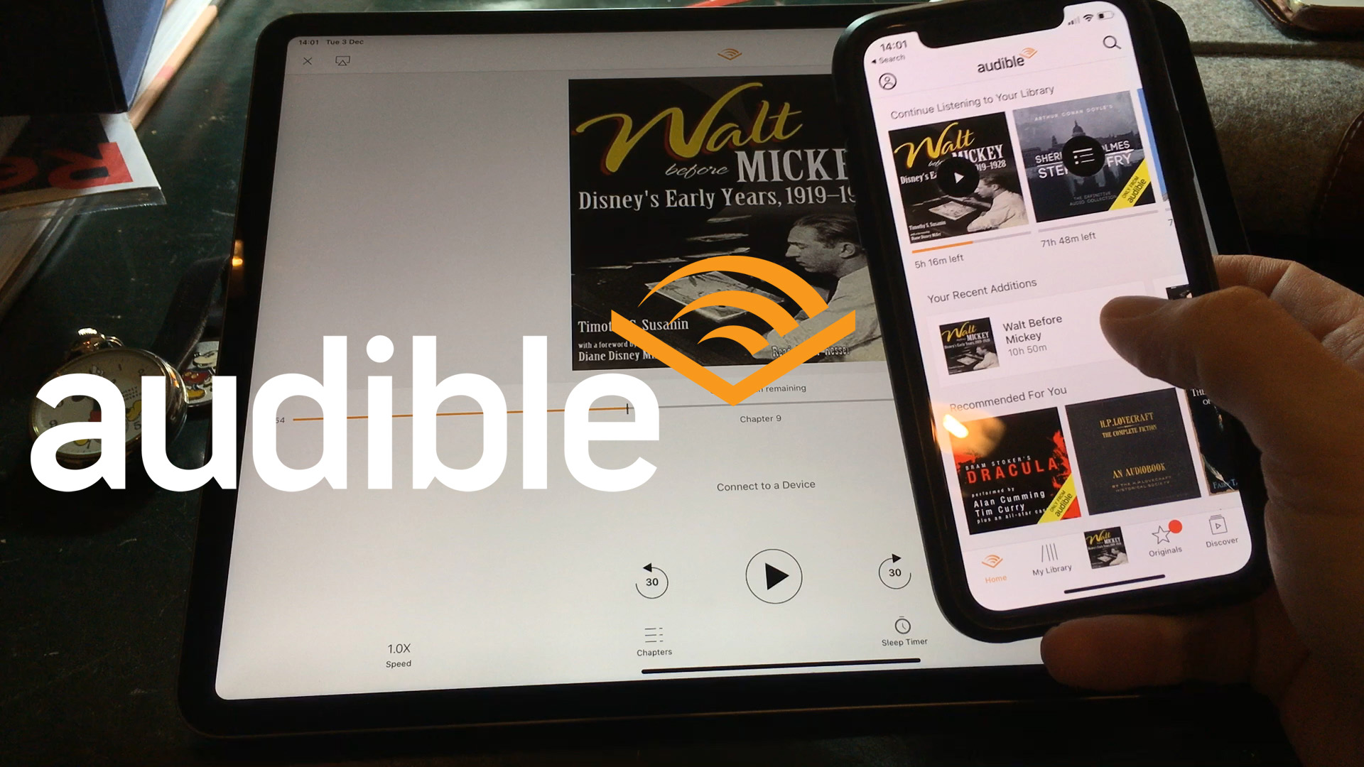 Walt Before Mickey Audible