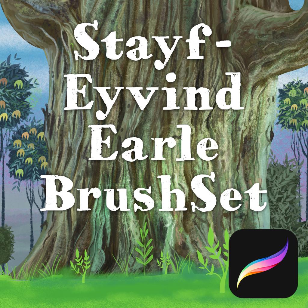 Procreate Eyvind Earle Brushes