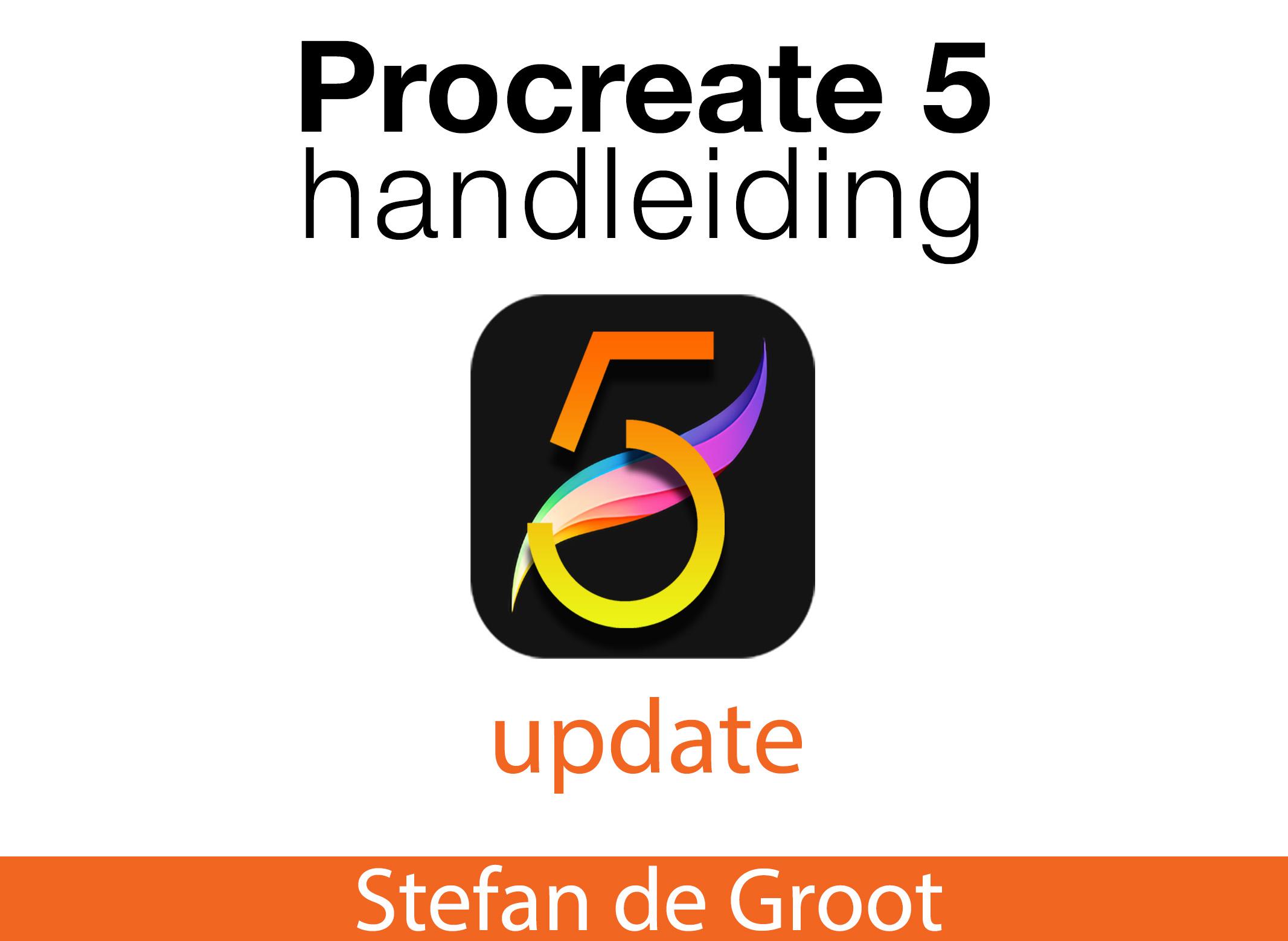 Procreate 5 Handleiding Update