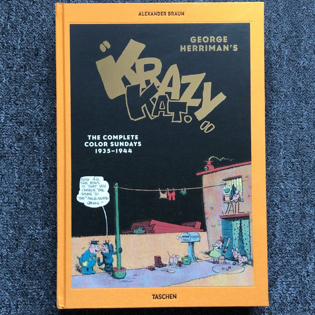 "George Herriman's ""Krazy Kat"", The Complete Color Sundays 1935–1944"