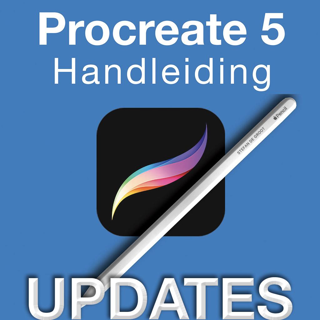 Procreate 5 Updates