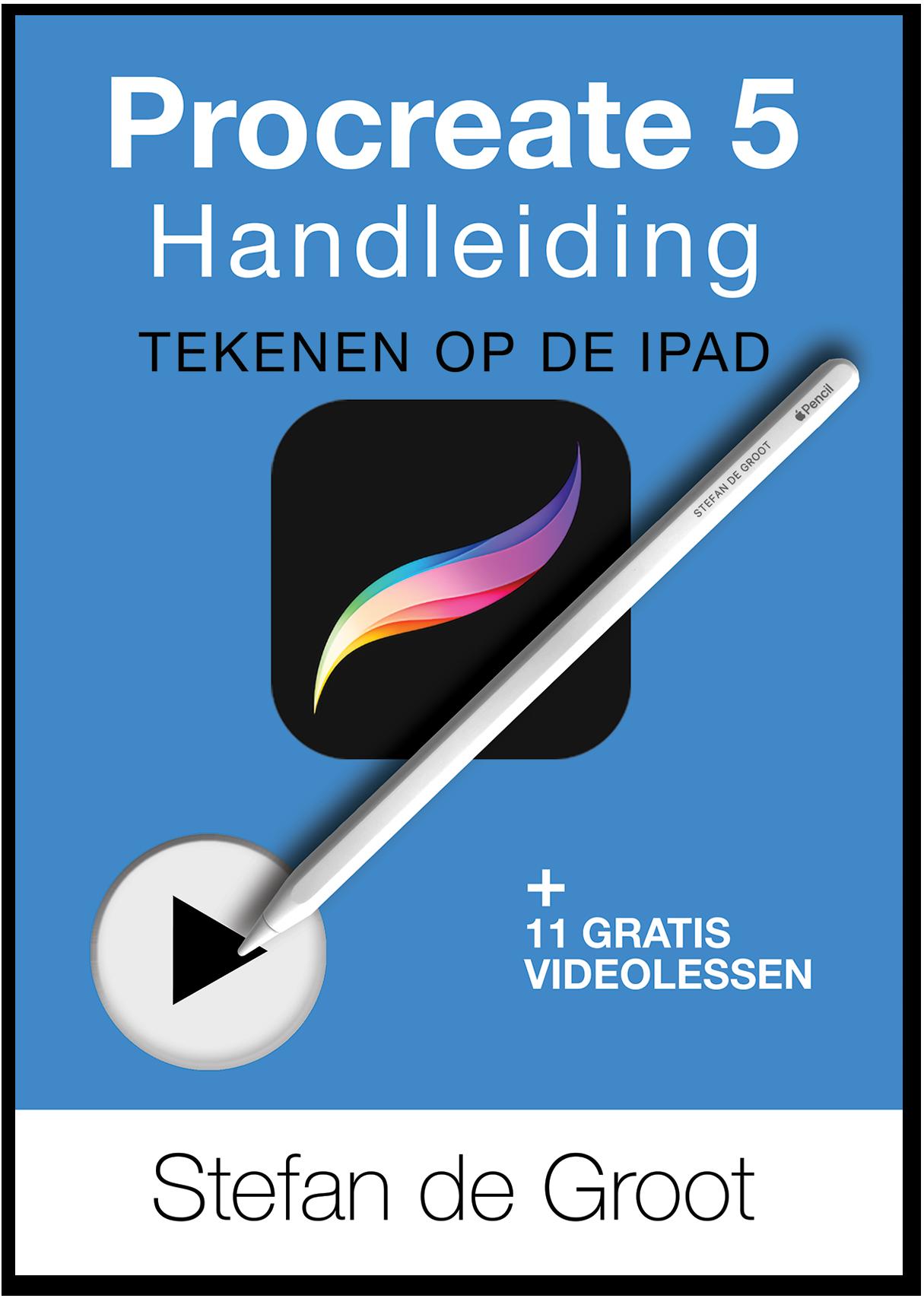 Procreate 5 Handleiding - tekenen op de iPad