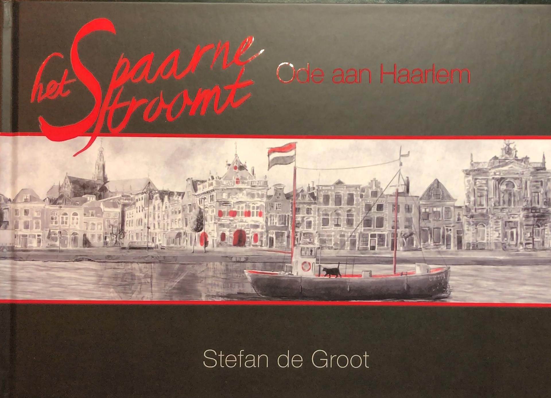 Het Spaarne Stroomt - Ode aan Haarlem Cover Stefan de Groot