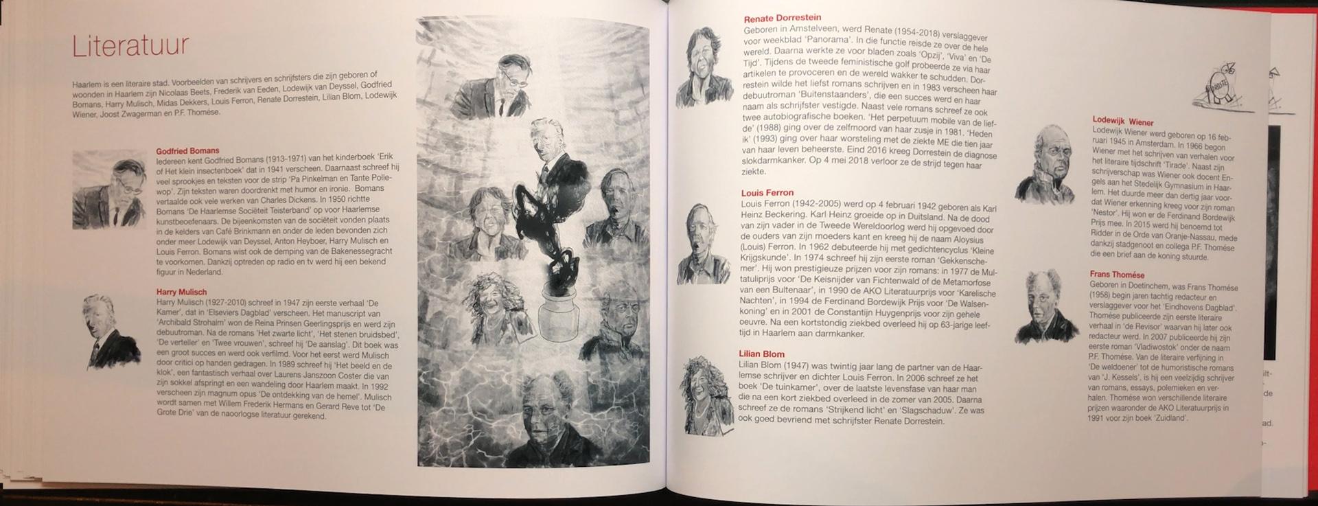 Het Spaarne Stroomt -Ode aan Haarlem Literatuur