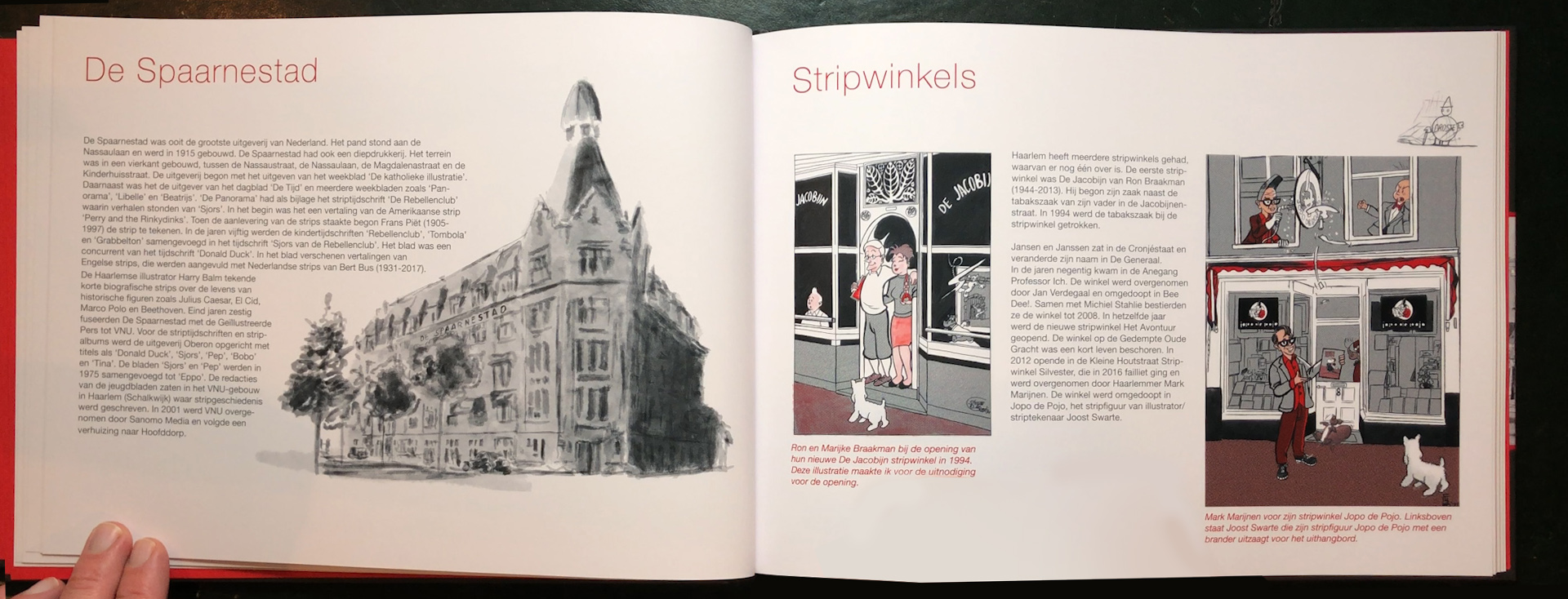 Het Spaarne Stroomt -Ode aan Haarlem Strips