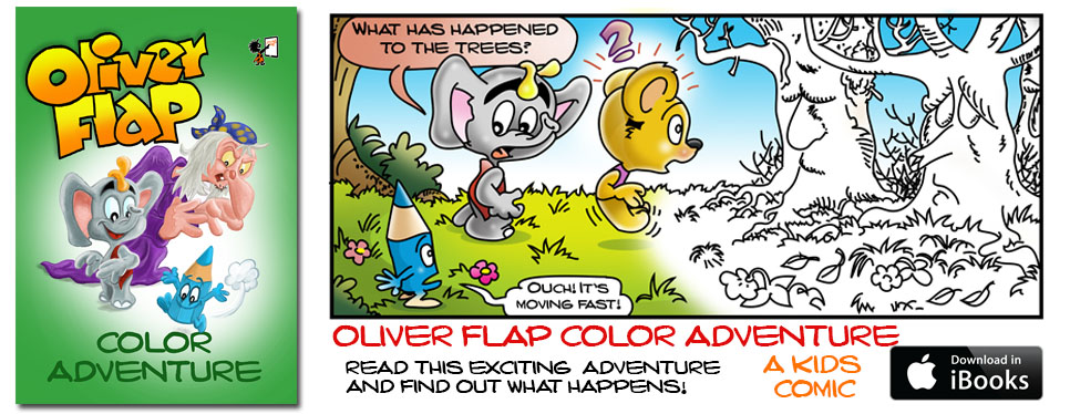 Oliver Flap Color Adventure for iBooks!