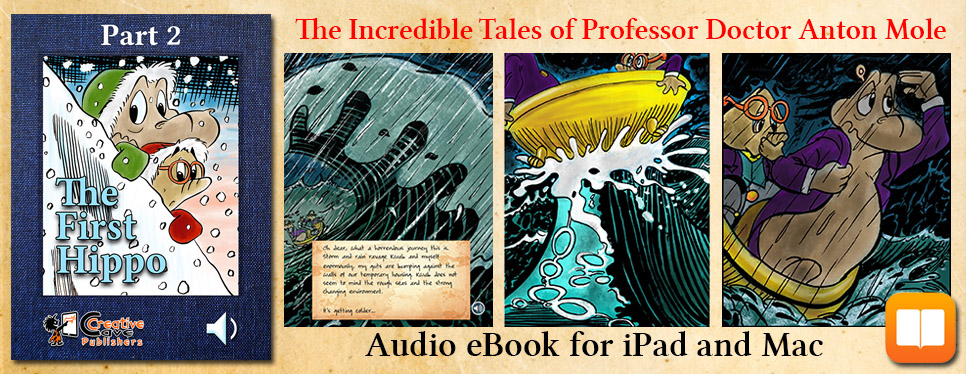 The First Hippo – audio eBook for iBooks