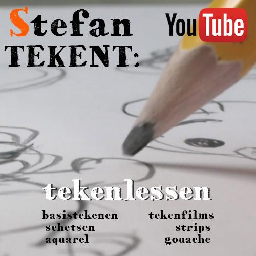 Stefan Tekent:  op YouTube