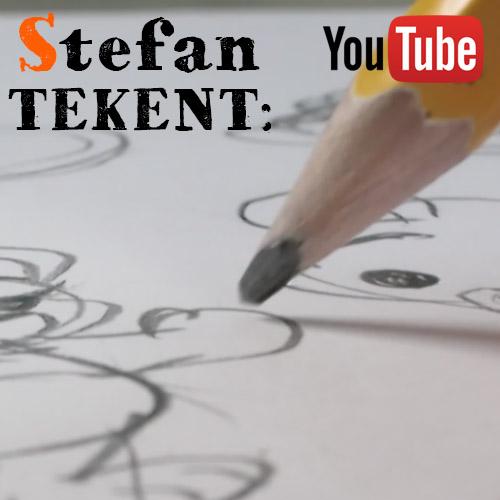 Stefan Tekent op YouTube
