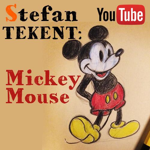Mickey Mouse tekenen