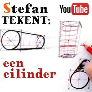 Tekenles 9: Cilinder