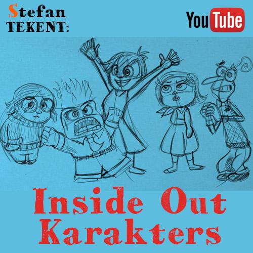 Inside Out Karakters