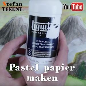 Pastel papier maken