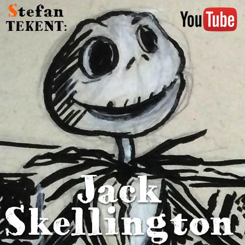Teken Jack Skellington