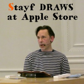Stayf Draws at Apple Store
