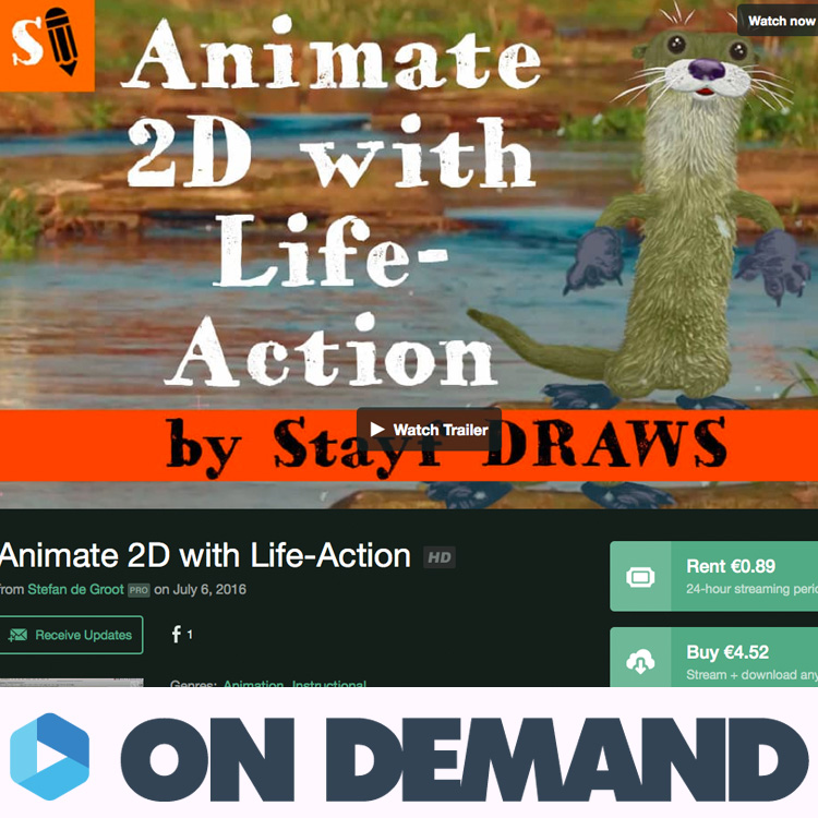 How to make 2D animation with Live Action