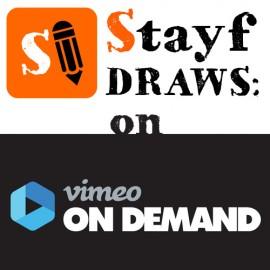 Stayf Draws on Vimeo On Demand