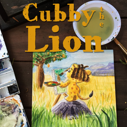 Cubby the Lion: Picture Book for iBooks