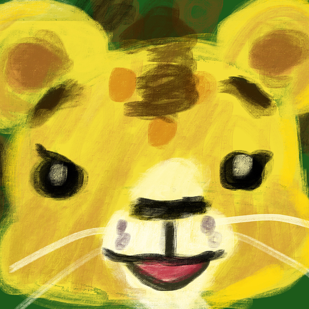 Cubby the Lion: Interactive Picture Book for iBooks