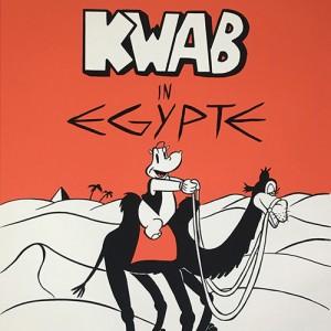 Zeefdruk Kwab in Egypte
