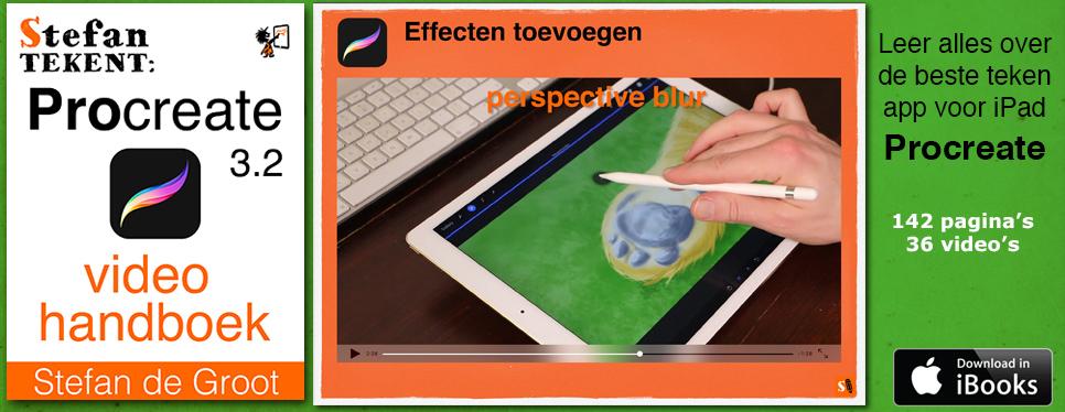 Stefan Tekent: Procreate 3.2 Video Handboek