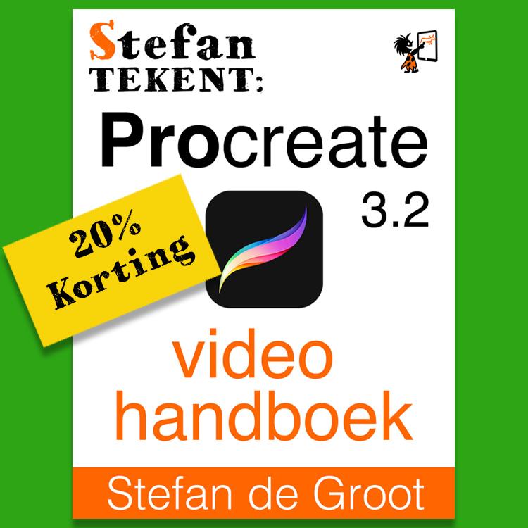 20% Korting Procreate Video Handboek