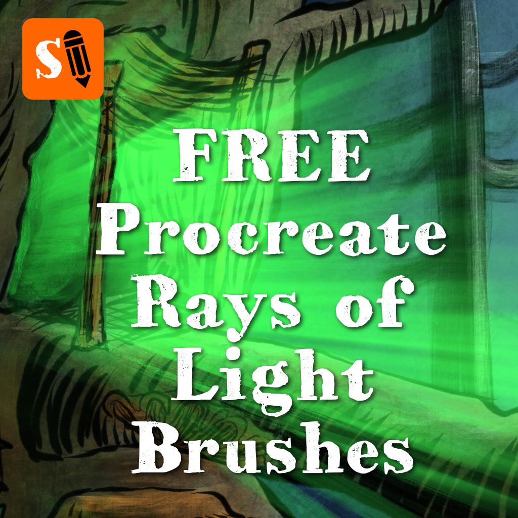 Free Rays of Light Brushes