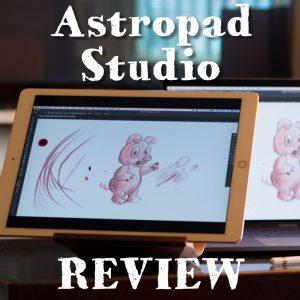 Astropad Studio Draw with iPad Pro on Mac
