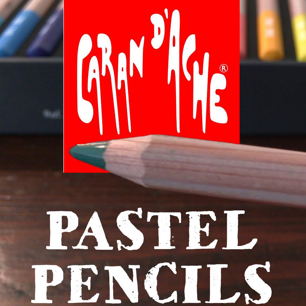 Caran D'Ache Pastel Pencils 40 Piece Box