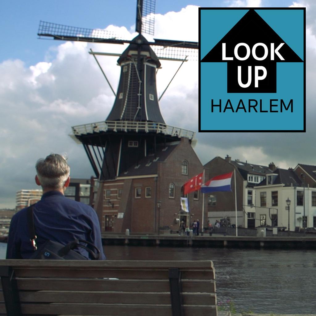 LookUp Haarlem iPad Schilderijen van Stefan de Groot