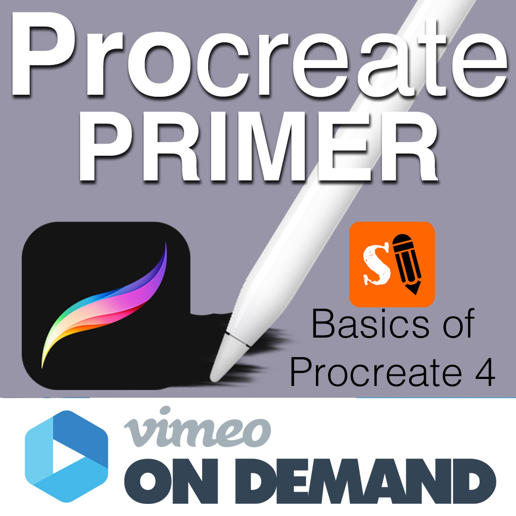 Procreate Primer: Basics of Procreate 4 on Vimeo