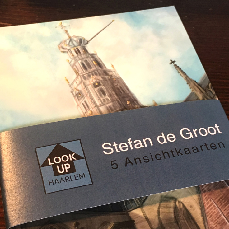 LookUp Haarlem 5 Ansichtkaarten