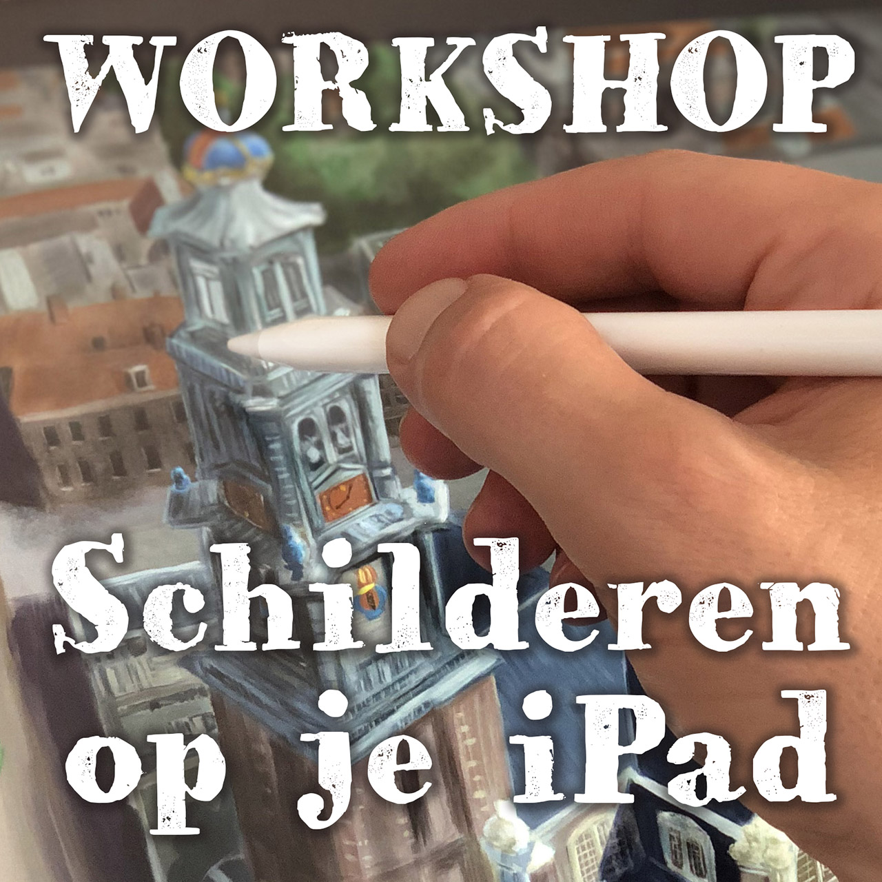 Workshop Schilderen op je iPad
