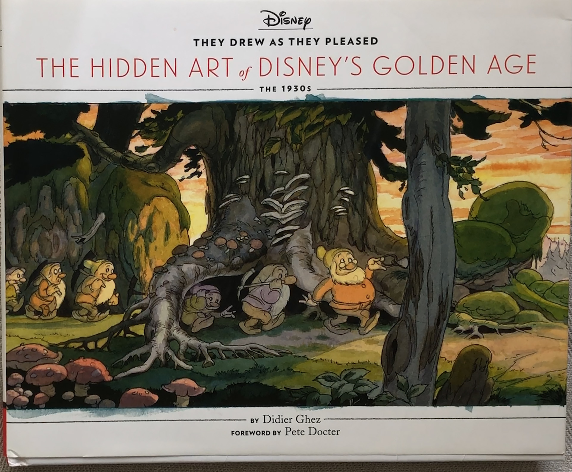 Cover They Drew As They Pleased The Hidden Art of Disney's Golden Age The 1930s