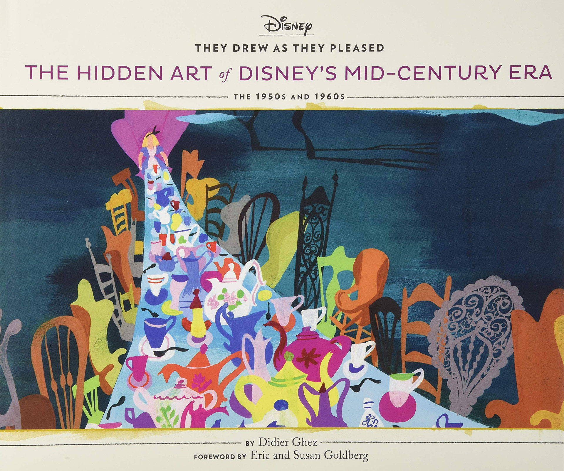cover They Drew as they Pleased. The Hidden Art of Disney's Mid-Century Era the 1950s and 1960s
