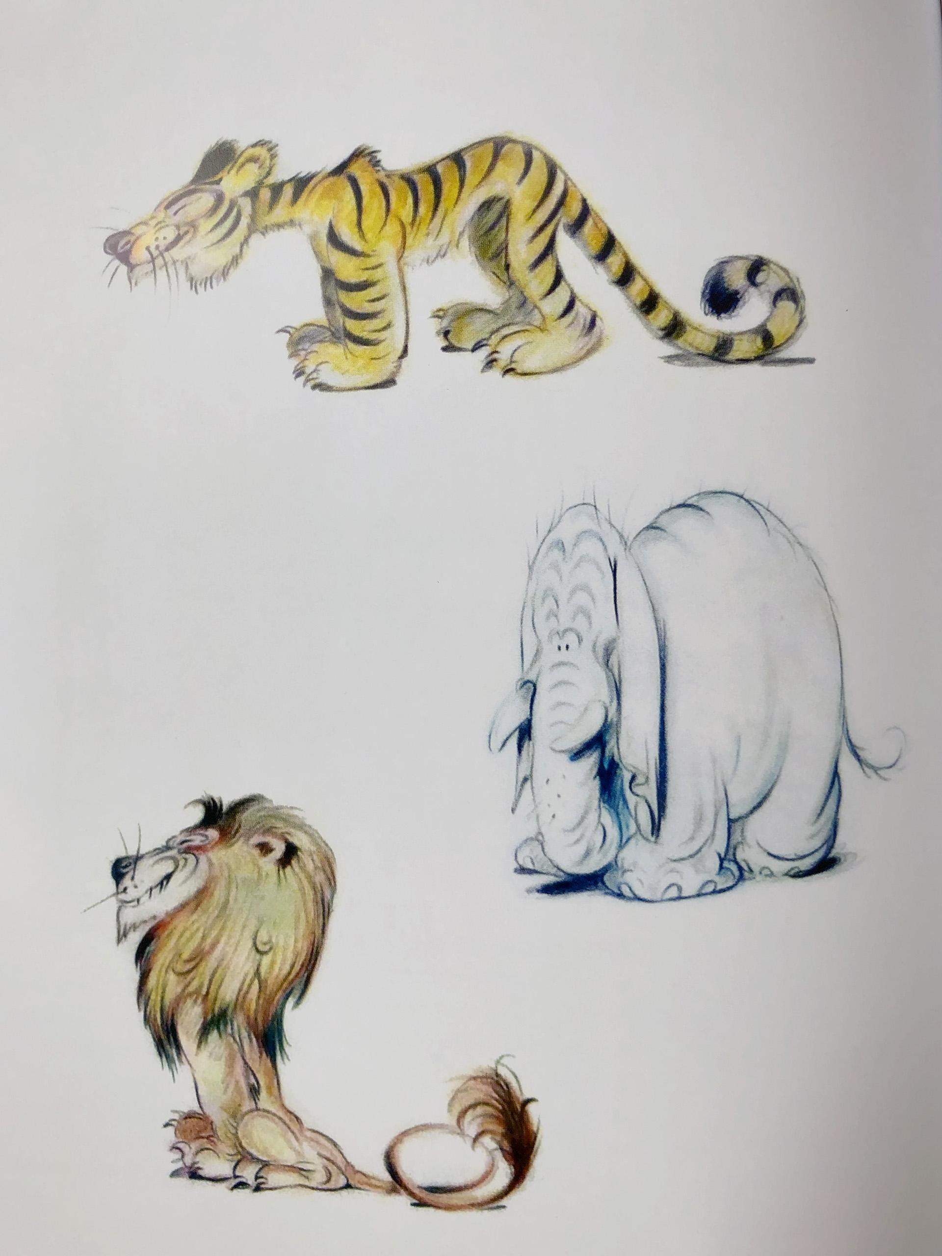 Ferdinand Horvath concepts Walt Disney Studios