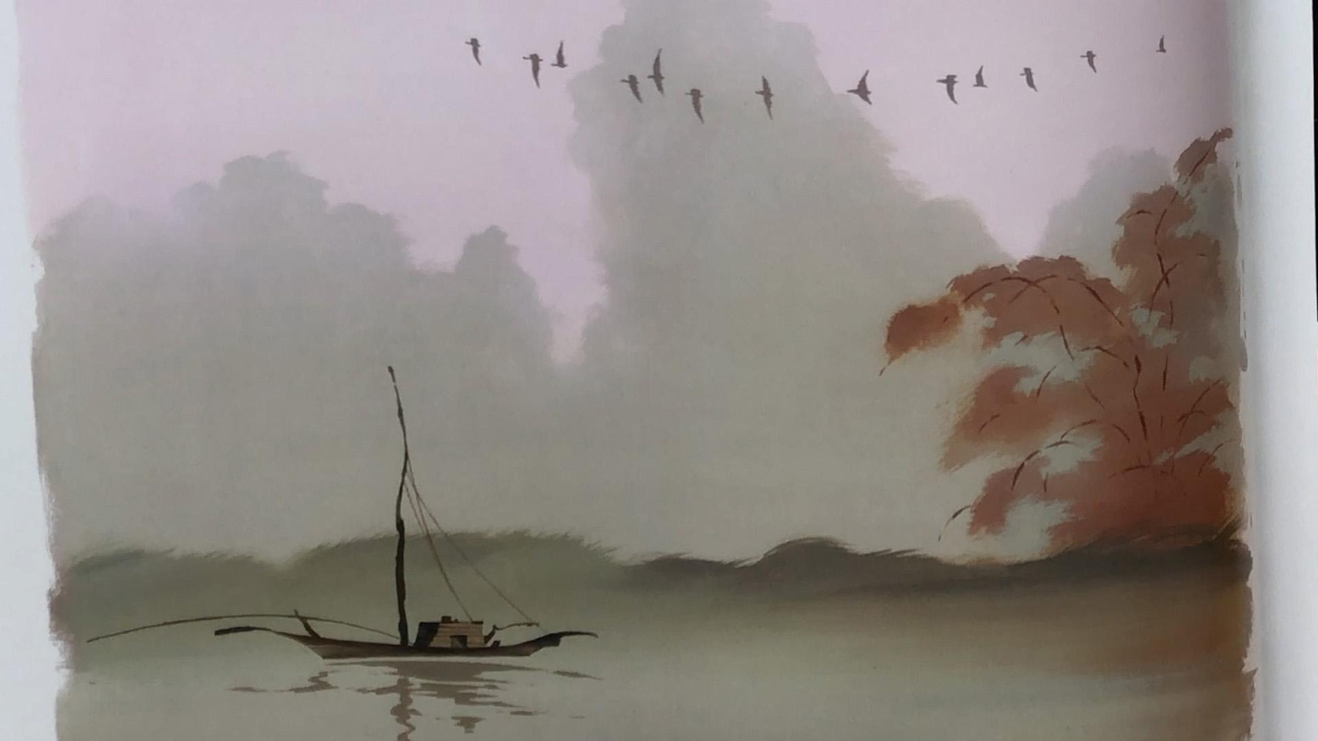 Hans Bacher Mulan concept Art