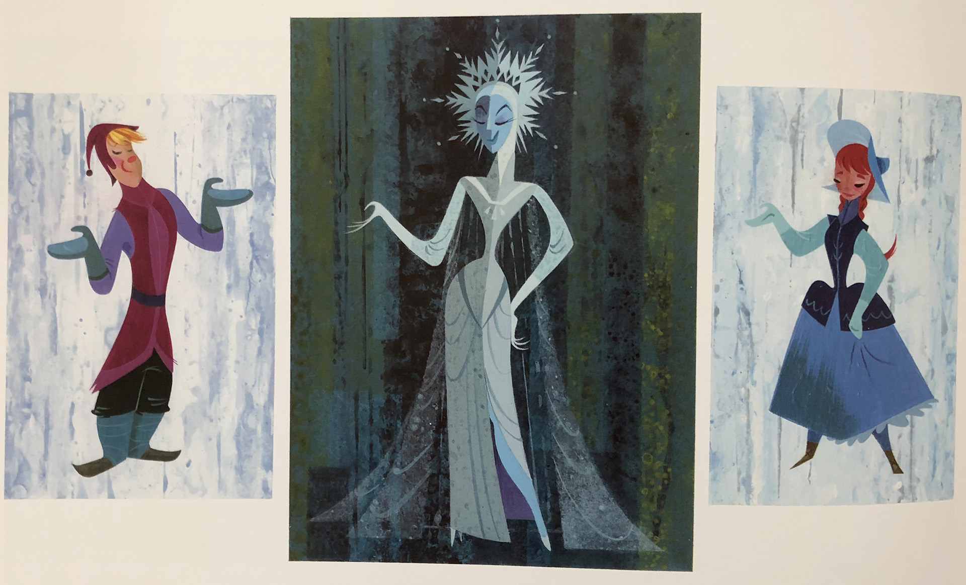Michael Giaimo concept art Walt Disney's Frozen